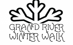 Join us for the Grand River Winter Walk on the 11th of December from 5:00 p.m. until 9:00 p.m. They'll be food, festivities, and fun!