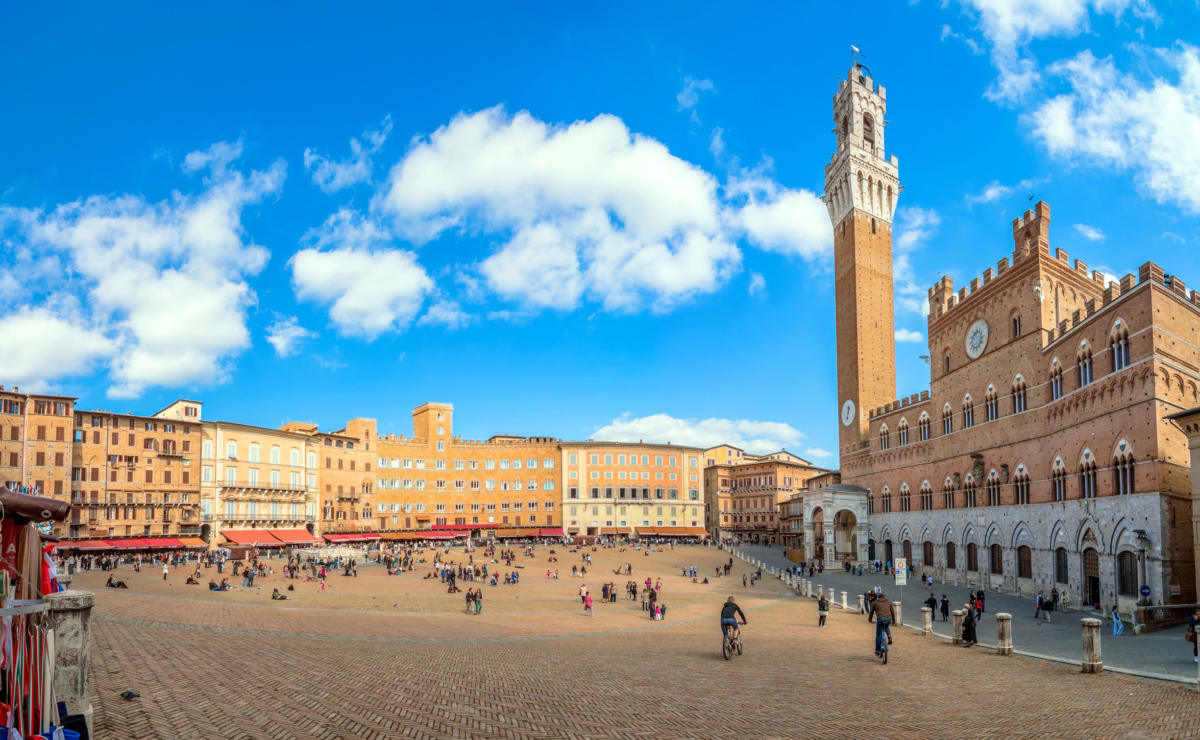 Copy of Campo Square with Mangia Tower, Siena, Italy