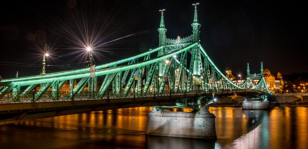LIBERTY BRIDGE BUDAPEST