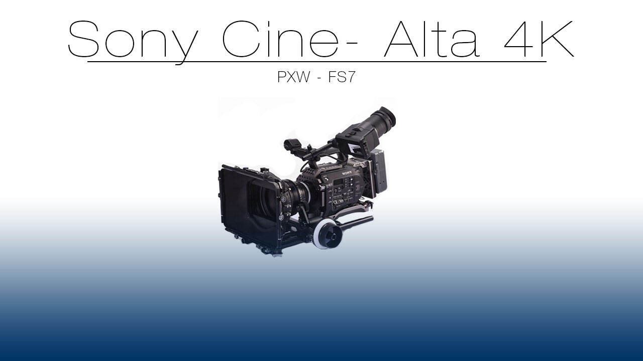 The Sony PXWFS7 4K Raw Digital Cinema camera shoots True DCI compliant 4096x2160  high quality XAVC-Intra  4K to XQD cards .