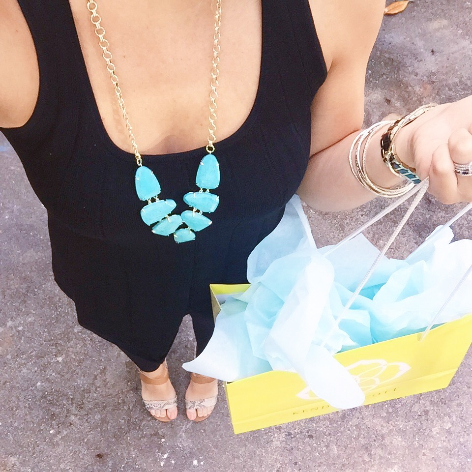 Kendra Scott Harlie Necklace in Turquoise