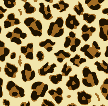 pattern mixing stripes leopard