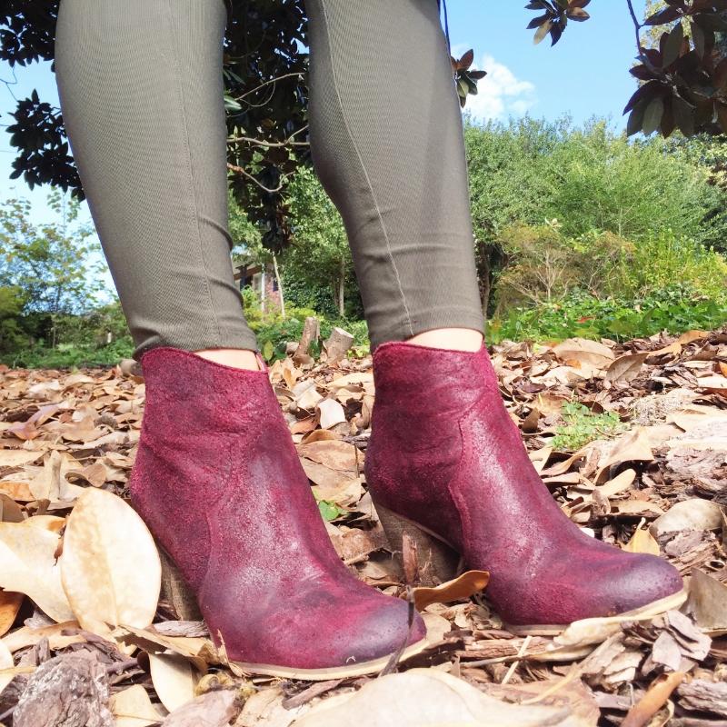 bp burgundy booties nordstrom lifestyled atlanta