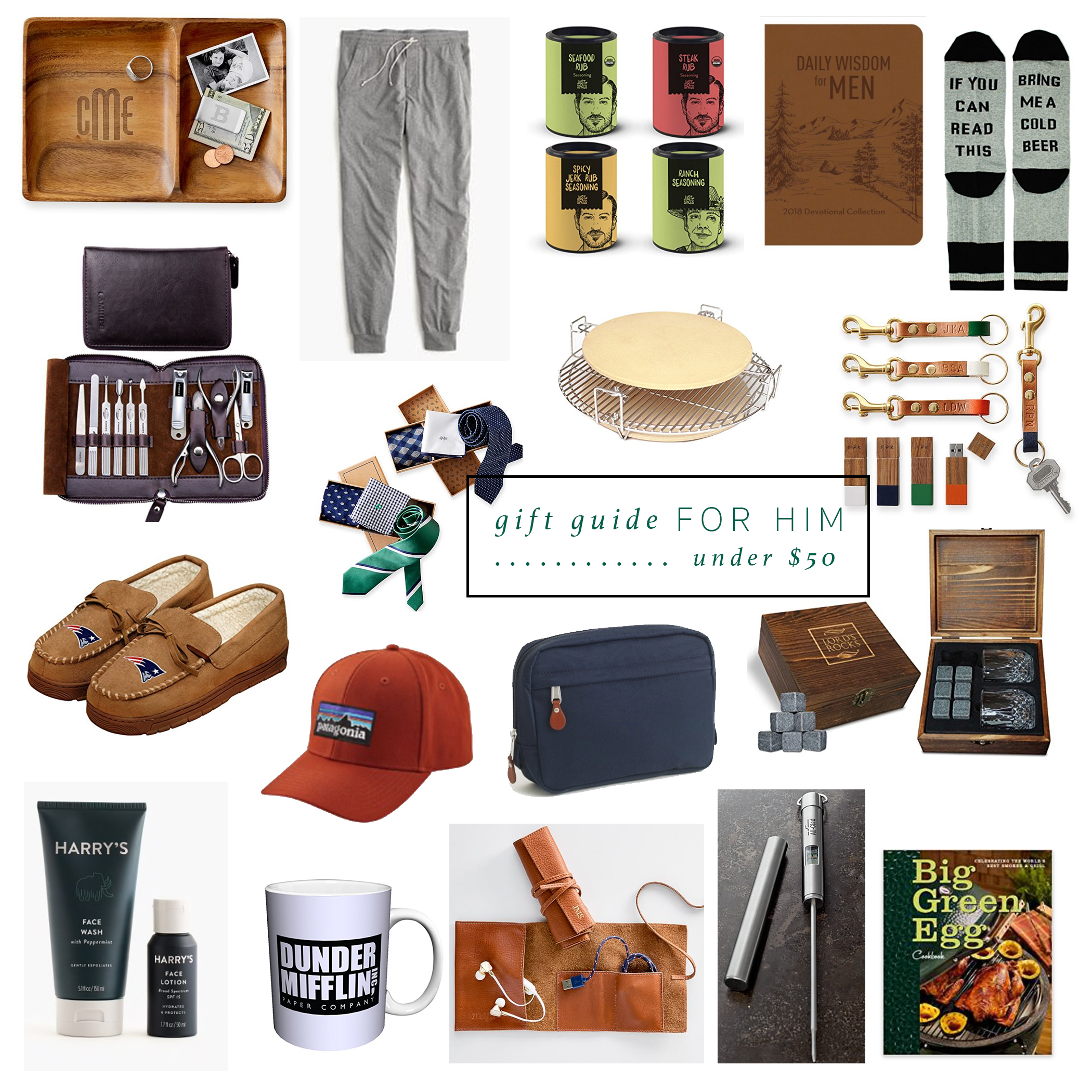 Gifts + Stocking Stuffers for Him