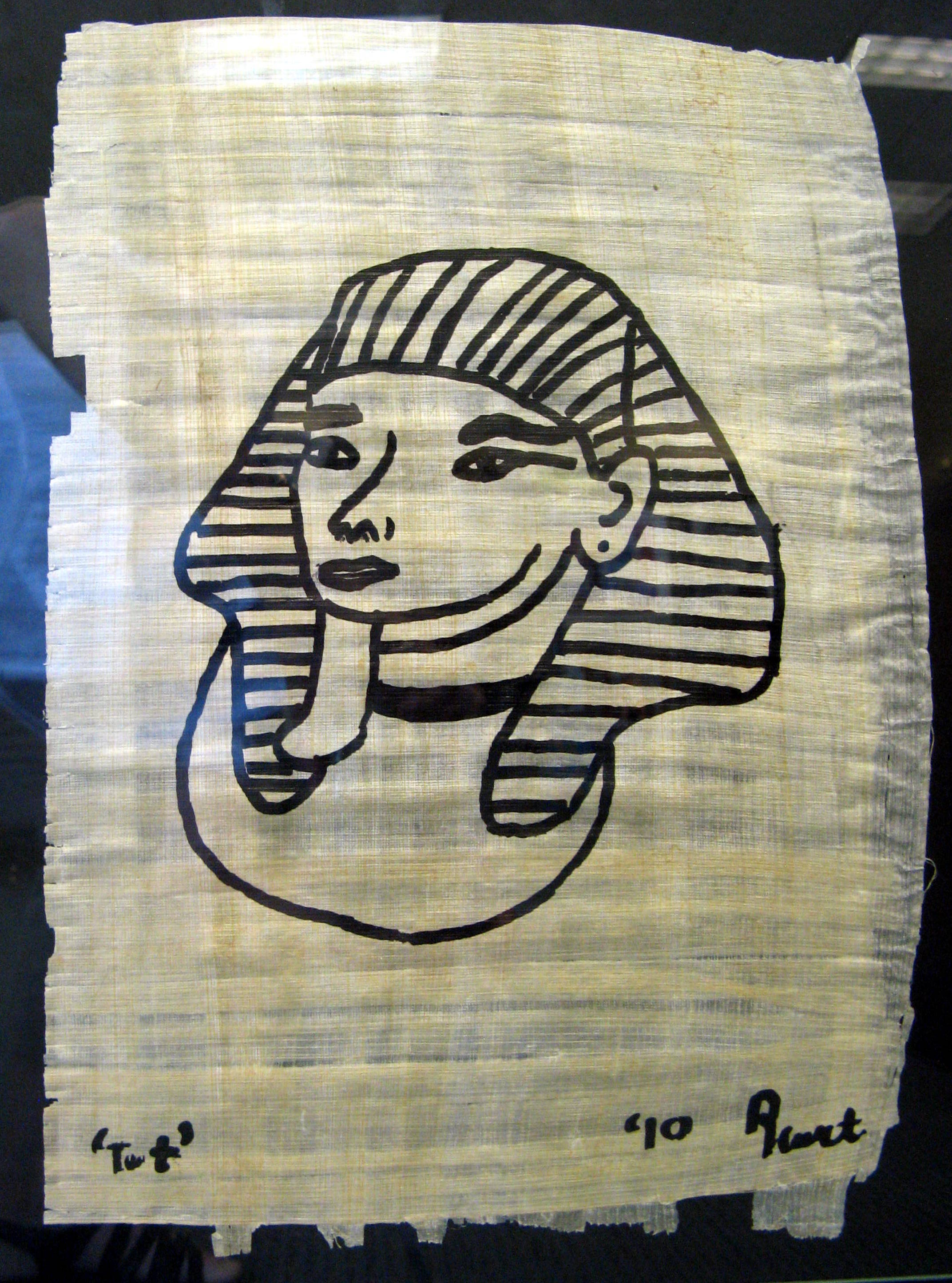 Ink on Papyrus