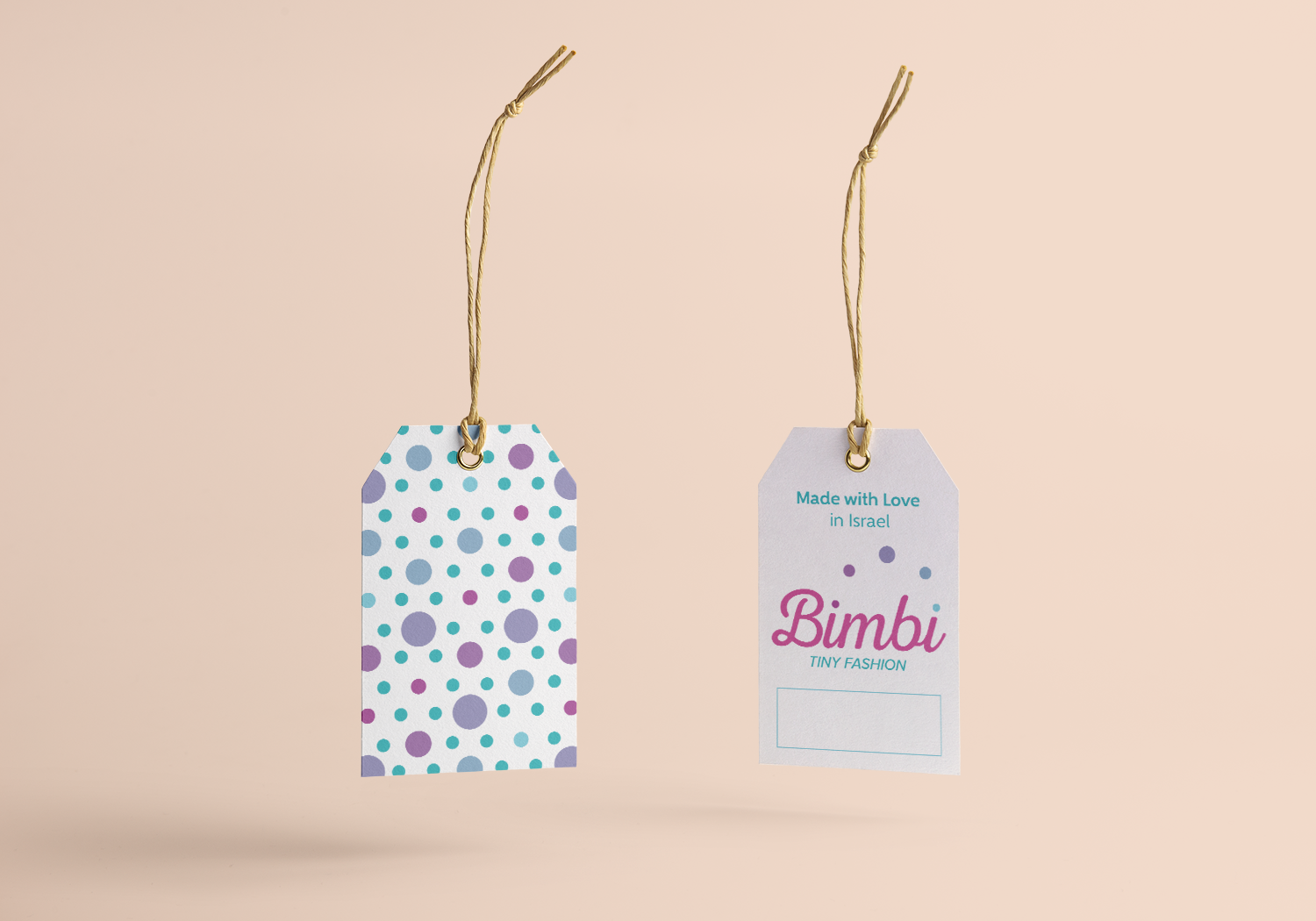 Bimbi clothes tags