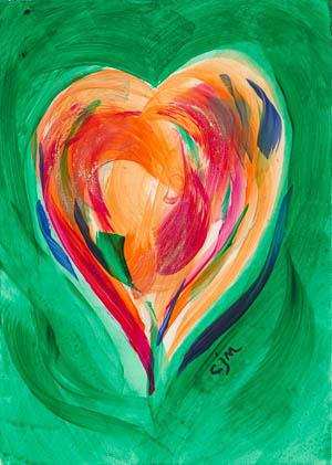 Anam Cara pocket painting #170014
