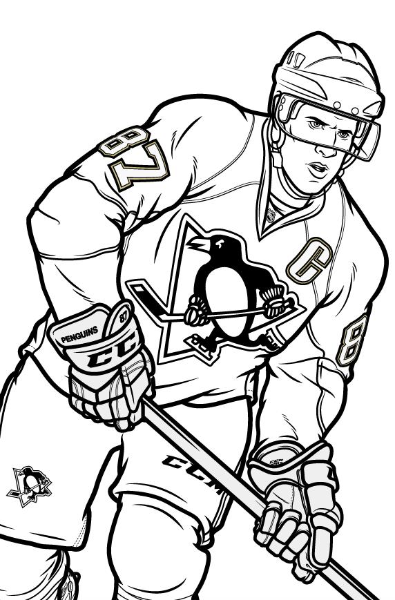 тогда распечатать раскраски хоккей нхл это понятно