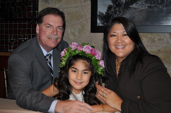 Nick, Carenna and Ditas - November 2011