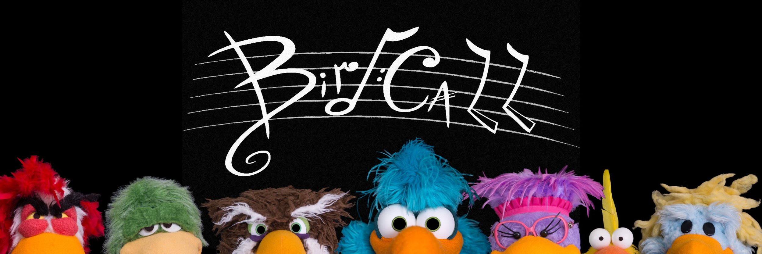Bird Call Series Synopsis:A flock of diverse birds (Luckl,Fowl Owl, Francise,Speck,Kesmoe,and Koo Foo) work for the radio station W.I.N.G run by a bumbling male chicken Mr. Sampy Chicker. The birds run the station in the backyard of the humans Wally Zutman and Harriet Dinseldorf, who have no clue of the bird's secret lives. Luckl and the gang are in constant competition with the neighboring station K.L.A.W. run by Grizzle and Pinky the Worm. Join the flock and sing out loud and proud your bird call!