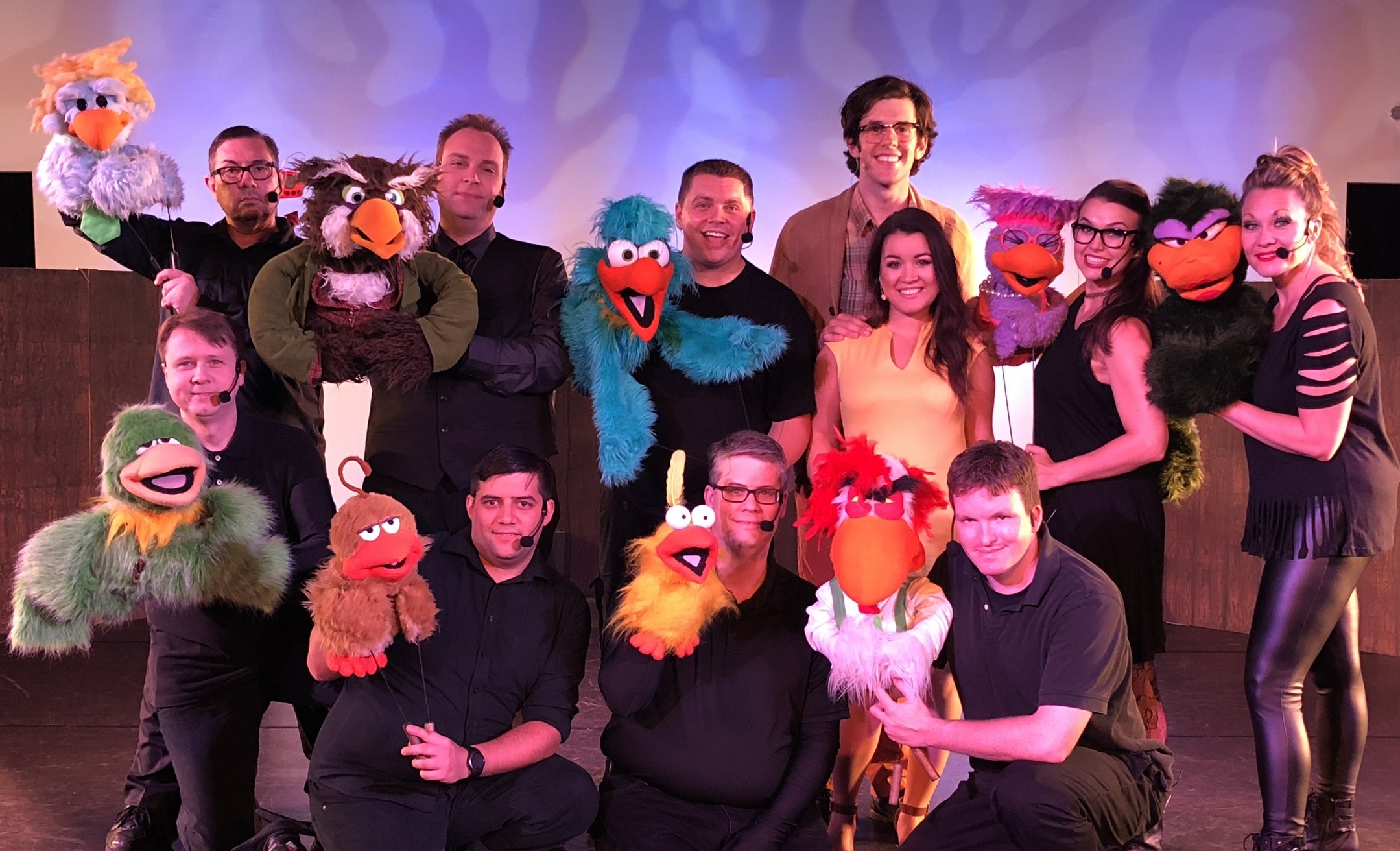 "2018 Cast of ""Bird Call the Musical"""