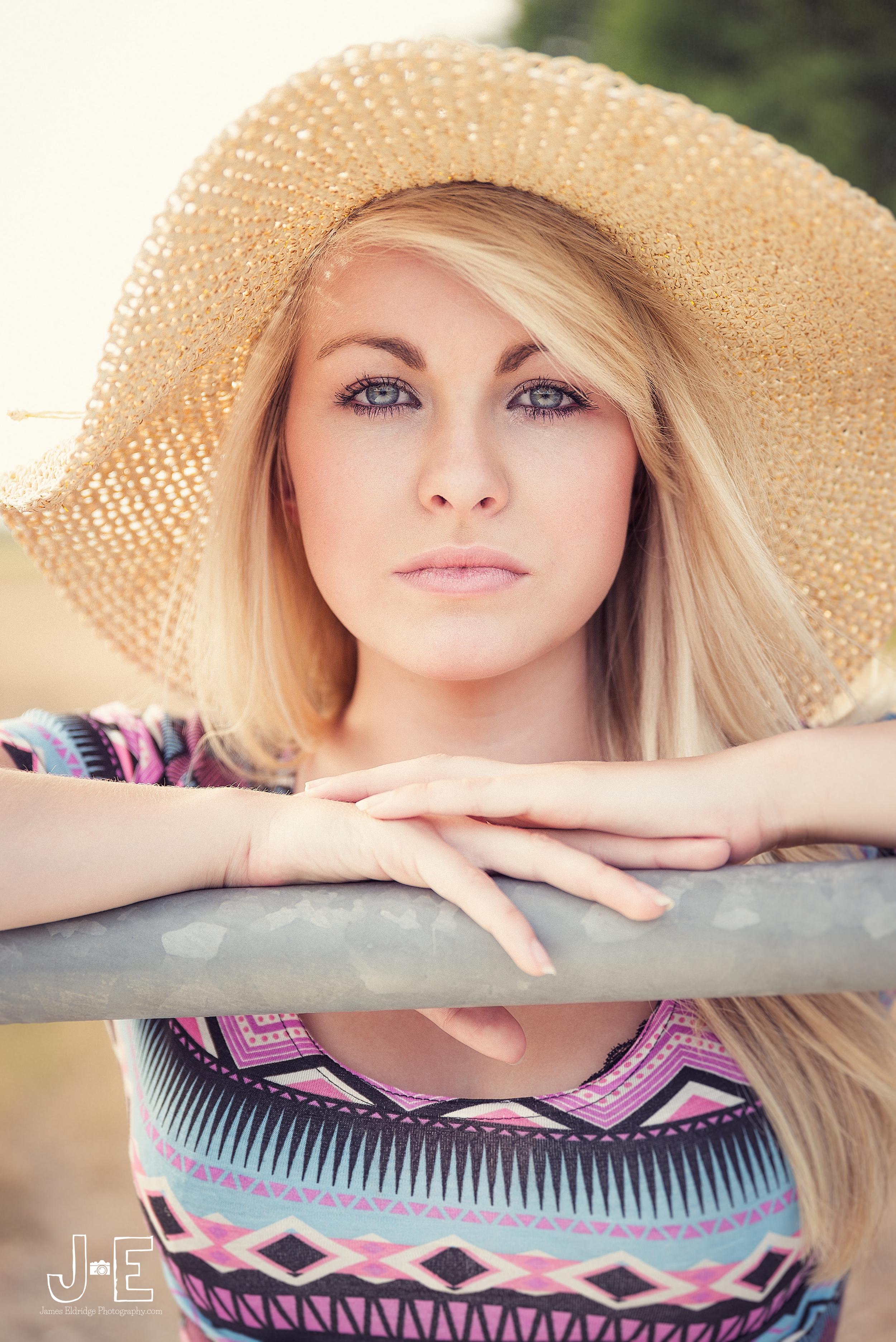 Leigh summer hat