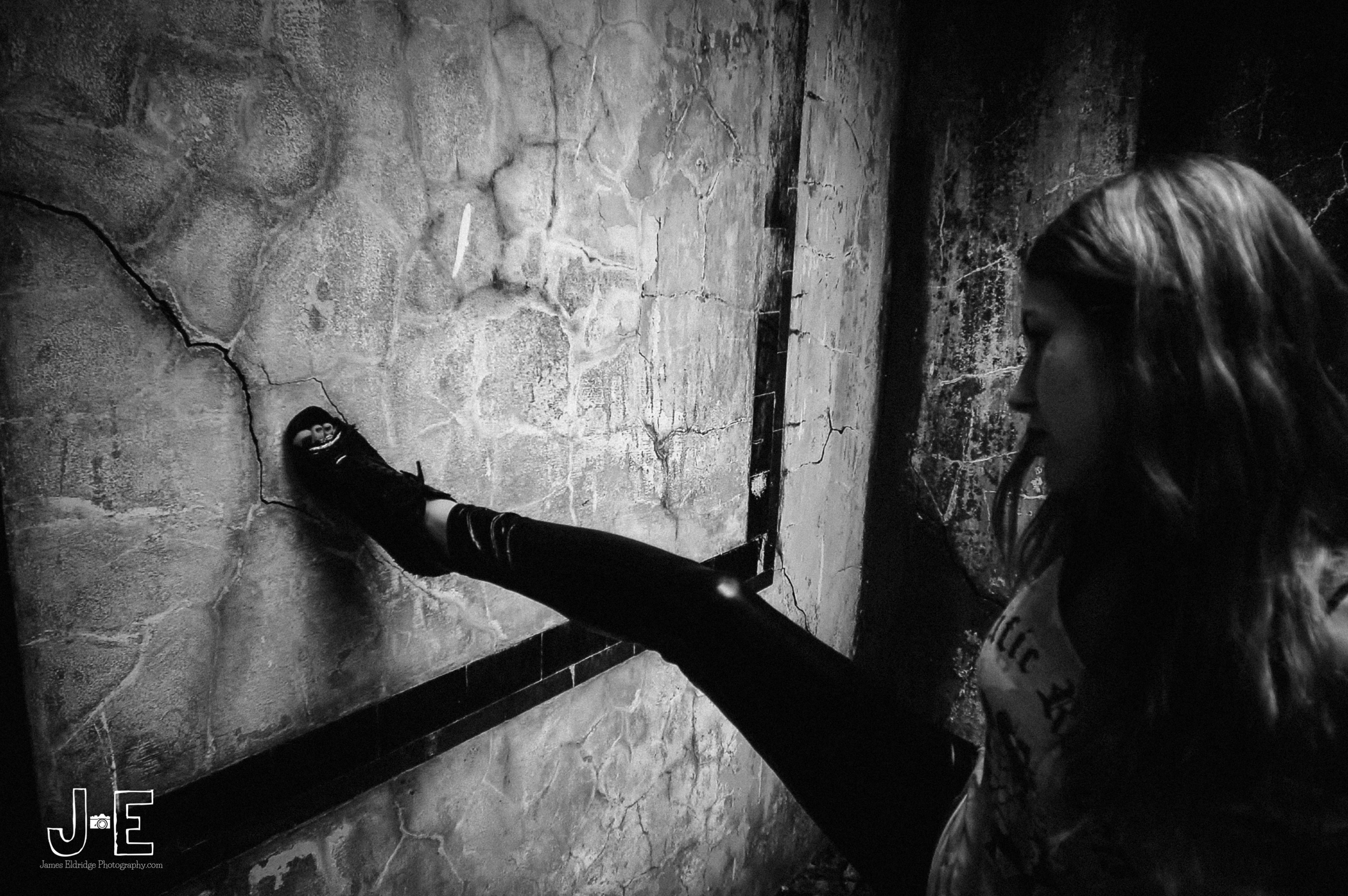 Astra cole cracked wall