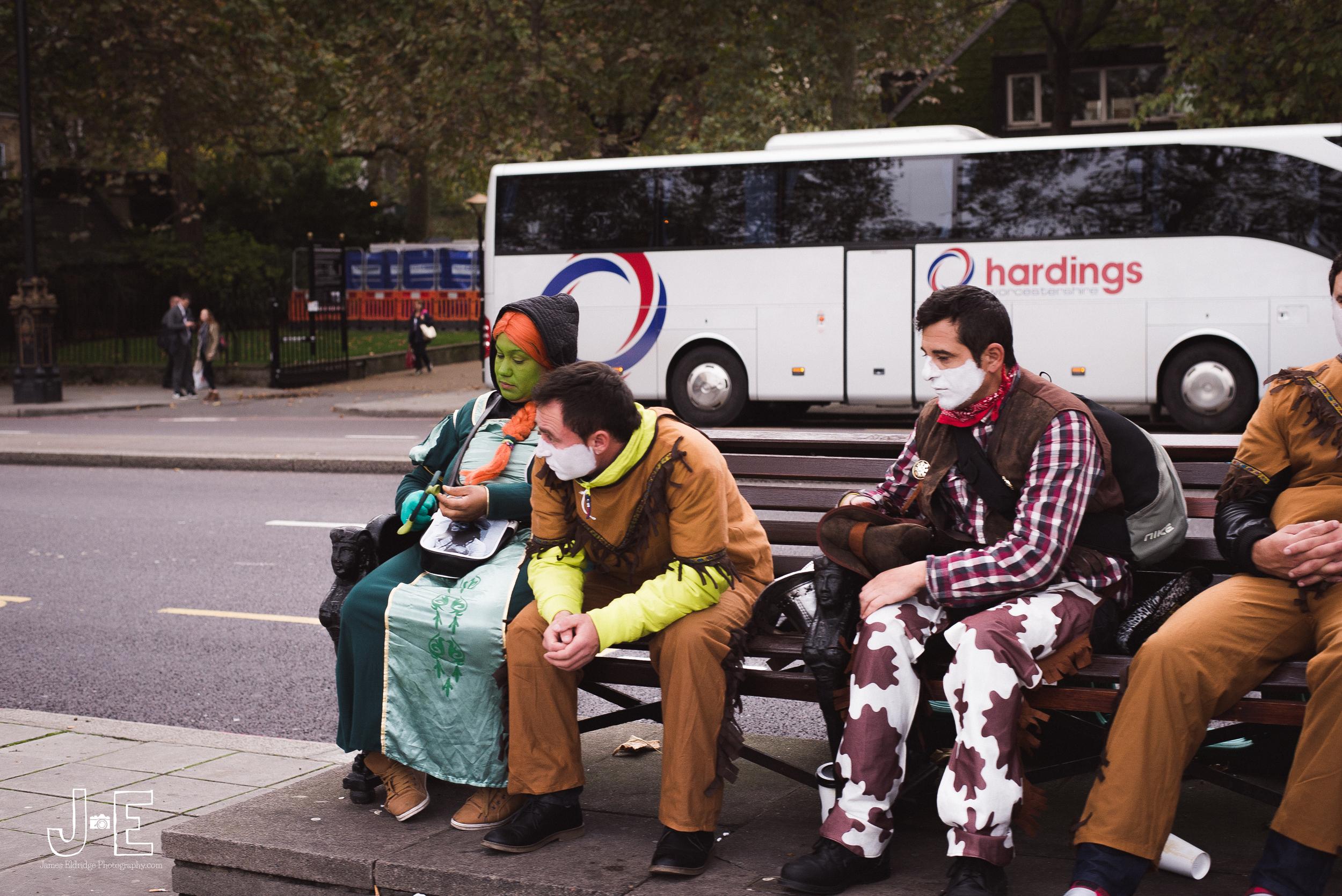 Street performers london