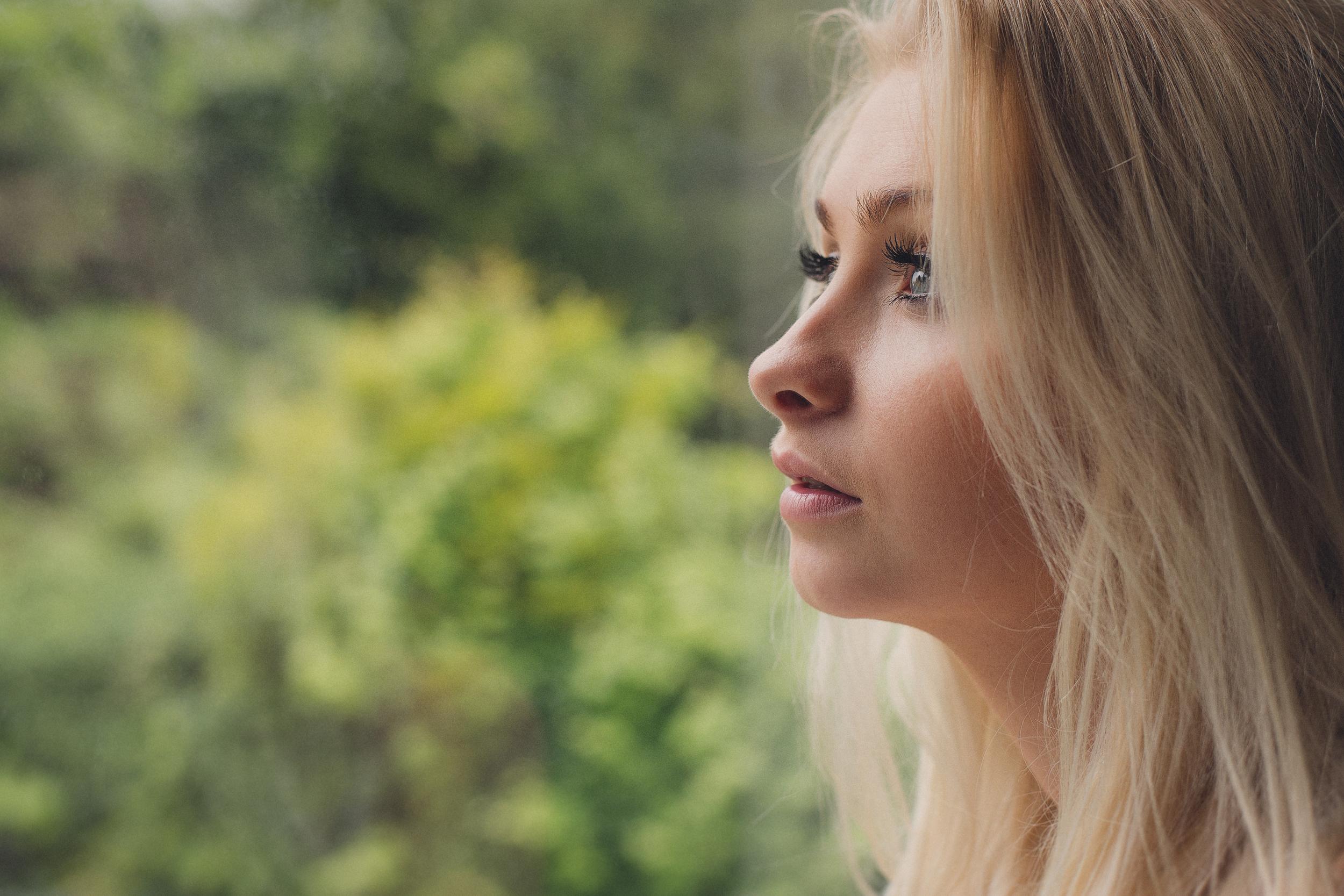 Nicole hinson window portrait
