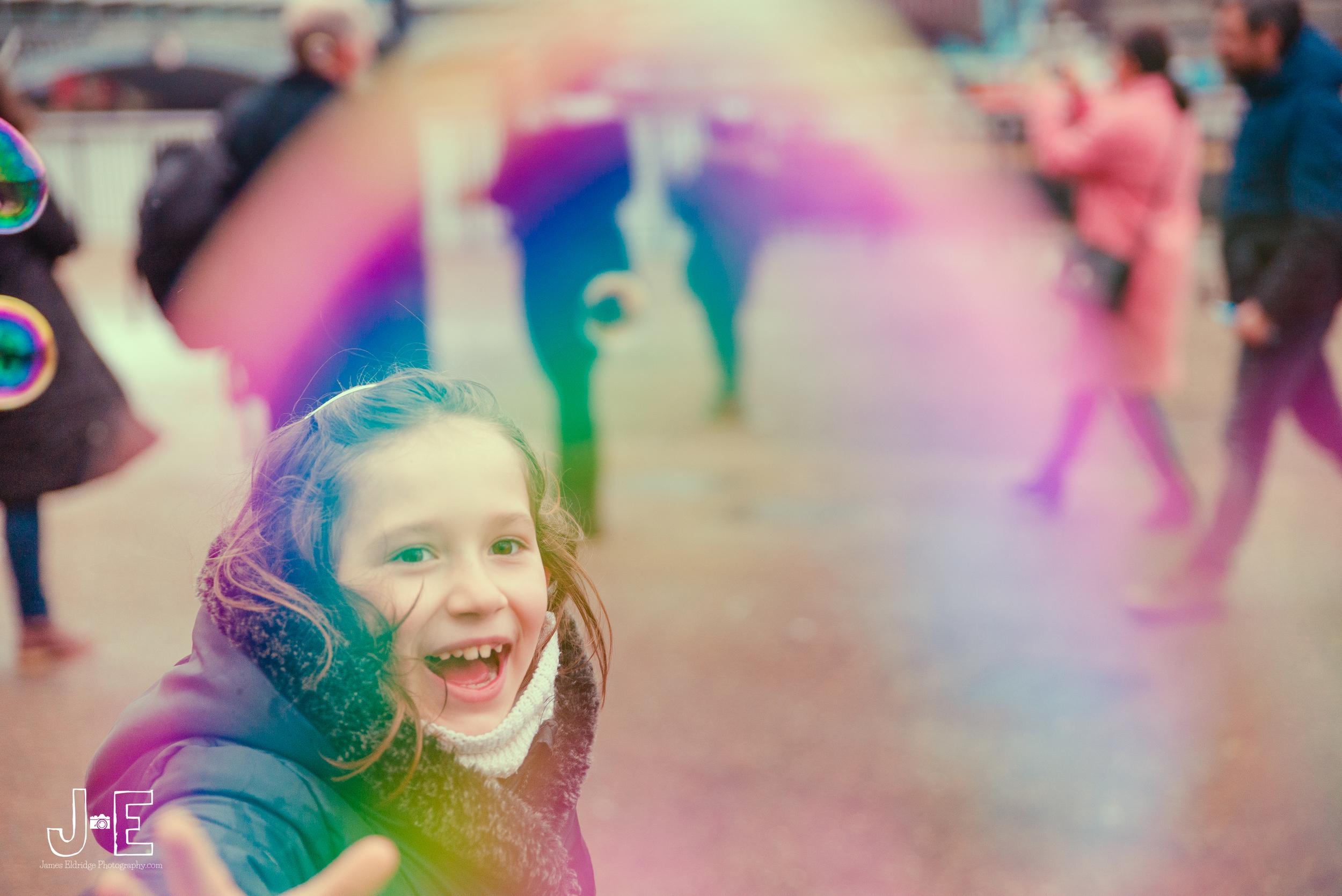 london bubbles street photography