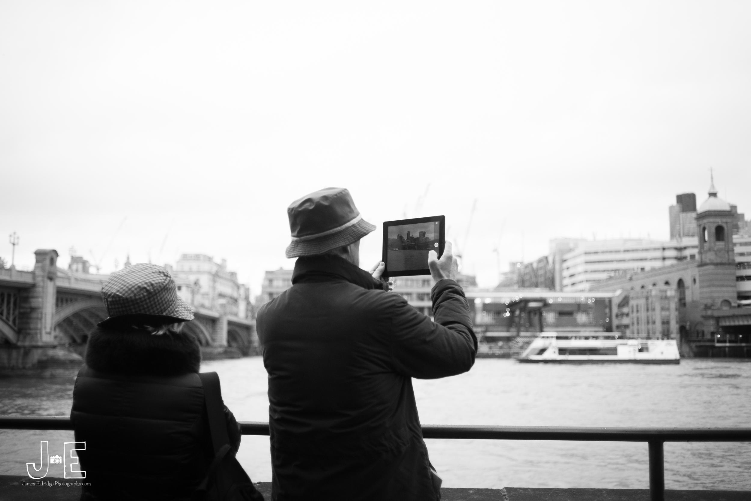 London ipad photography