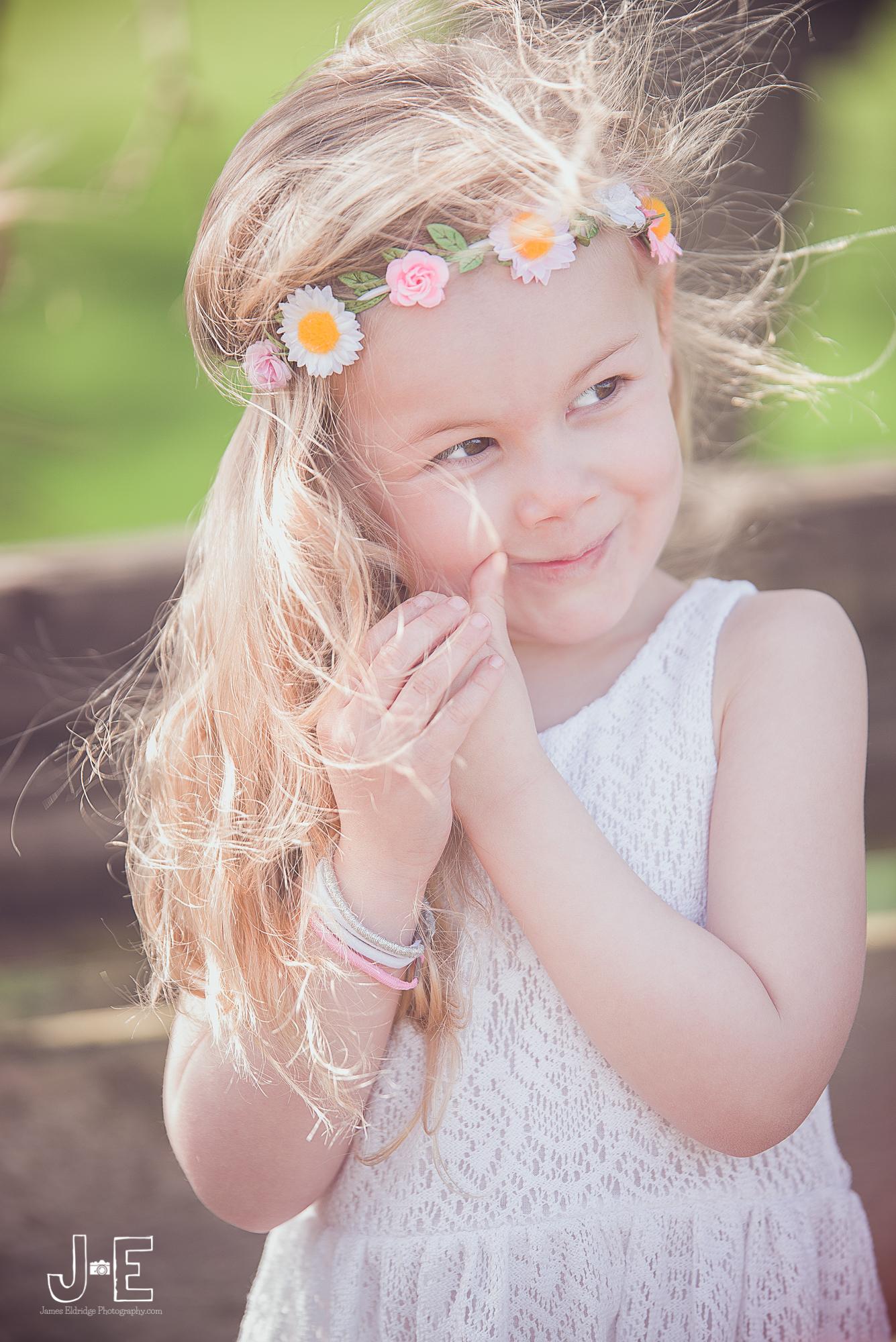 summer child portrait