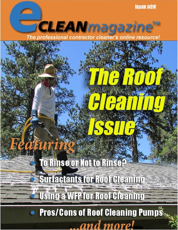 Pacific Roof Cleaning Featured on Cover of National Trade Magazine