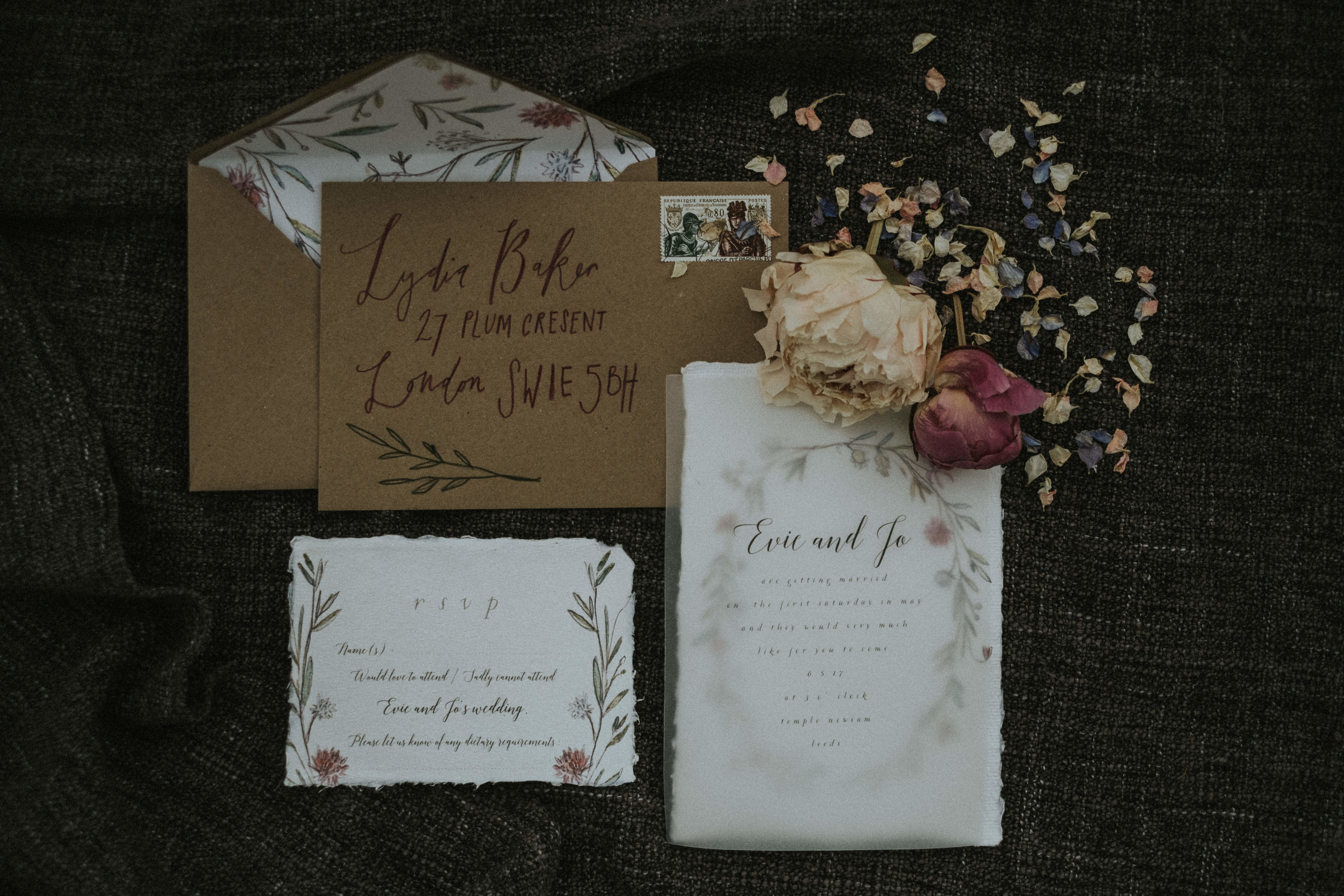 Mimolo Design Wedding Stationery Set