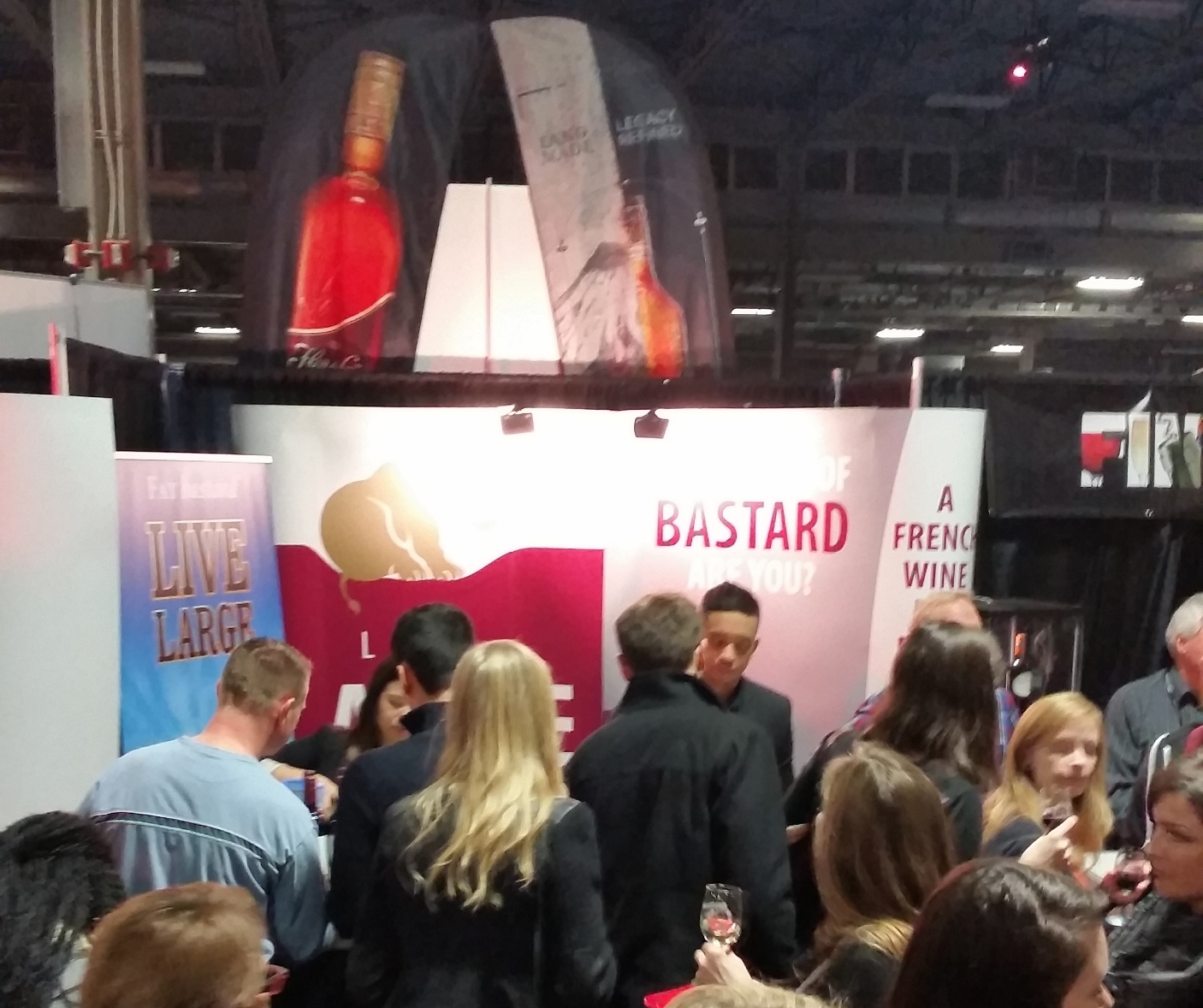 Fat Bastard @ The Wine and Food Show in London