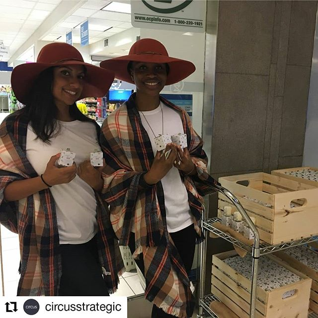 Preparing TO for fall 🍁 #Repost @circusstrategic • • • The circus team was up bright and early to help @hbcentre_to warm up to Fall with adorable mini candles!  #FirstDayOfFall #ClientLove #HBCJustBreathe #AgencyLife #BehindTheScenes #CandleLove