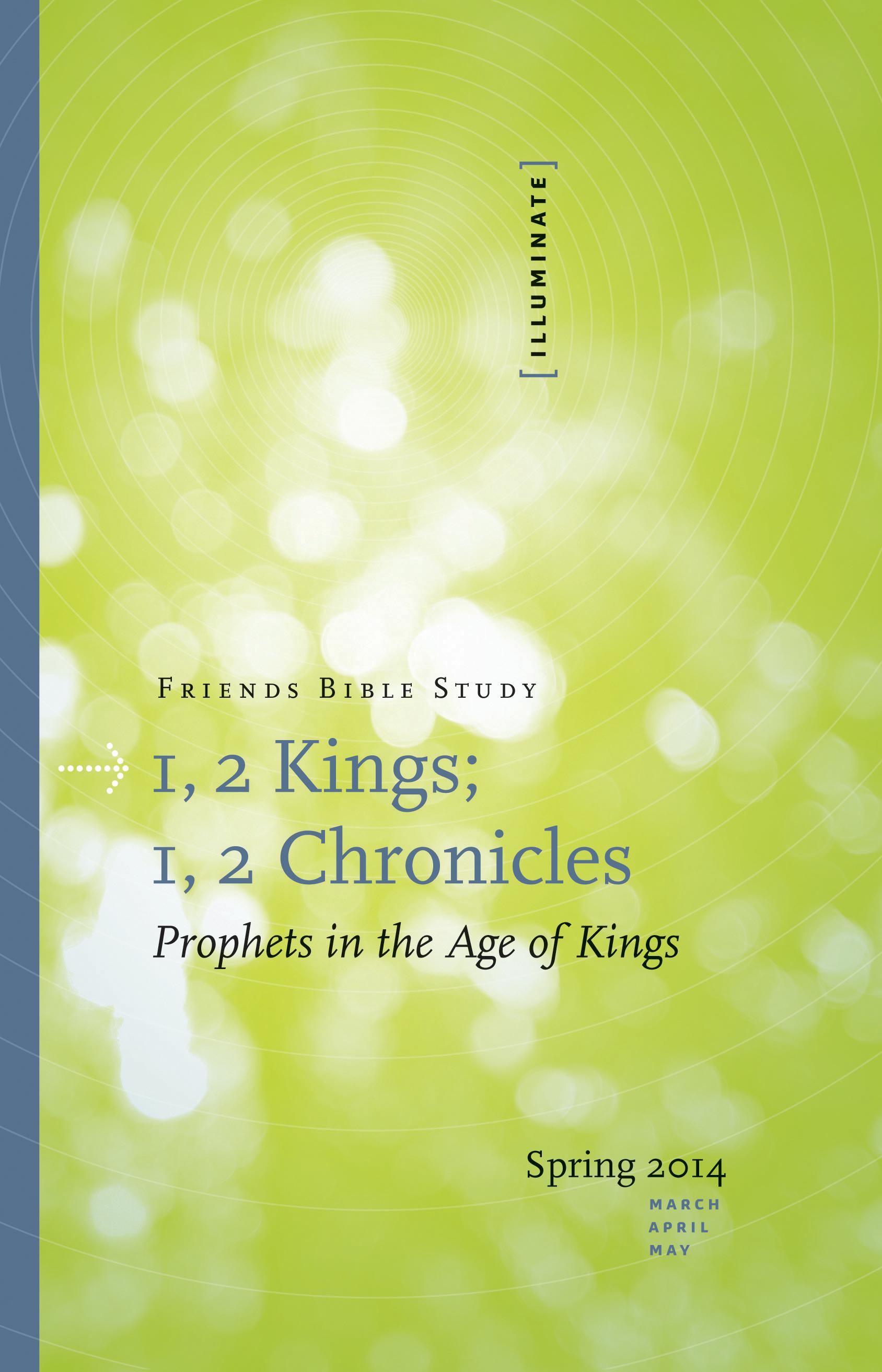 1, 2 Kings; 1, 2 Chronicles