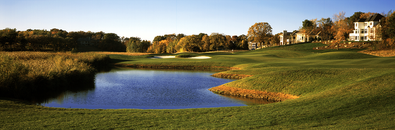 A wide view of Hole 12