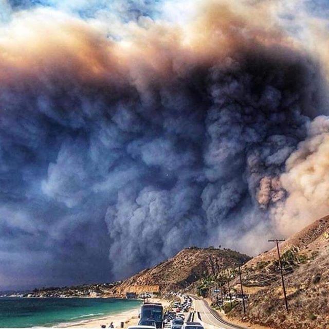 Malibu today #makibufire