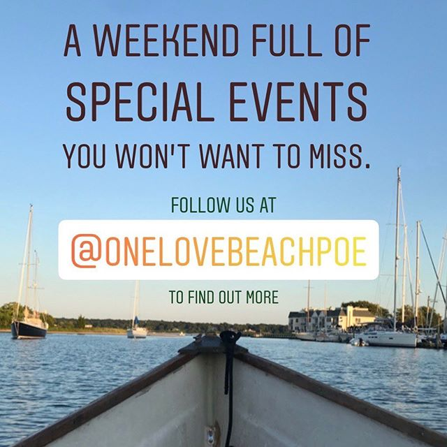 Big happenings at @onelovebeachpoe this weekend!  If you don't follow them now is the time to get full details! #fishingseason #yetisfordays #itaintover
