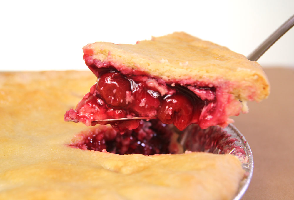 Twin Peaks Cherry Pie from Twede's Cafe