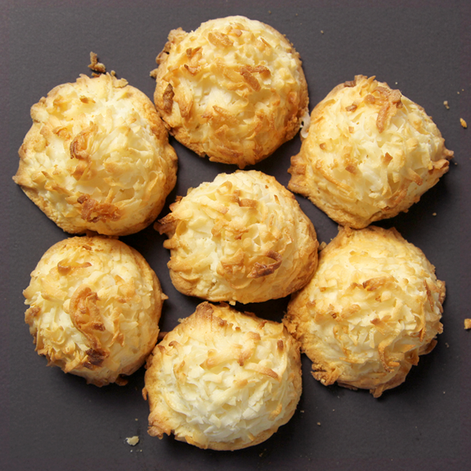 CT Cookie Co's Coconut Macaroons