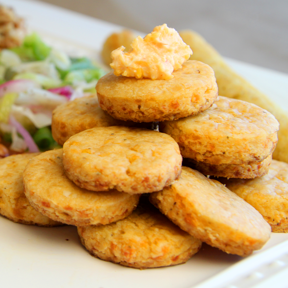 Southern Cheese Biscuits - Contains 60 Biscuits