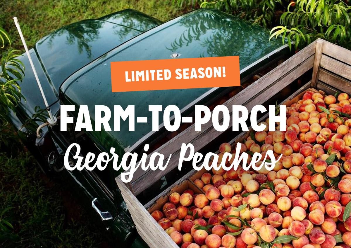 Georgia Peaches Shipping Nationwide