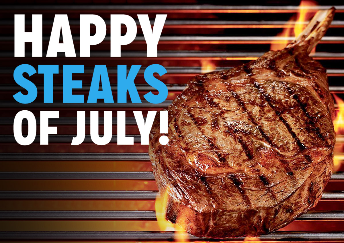 Steaks for Fourth of July
