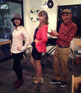 After the gig in Japan with Tai Yasuhiro & Yuki Imai