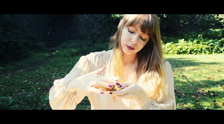 Scene from Anita's 'Milk & Honey' music video