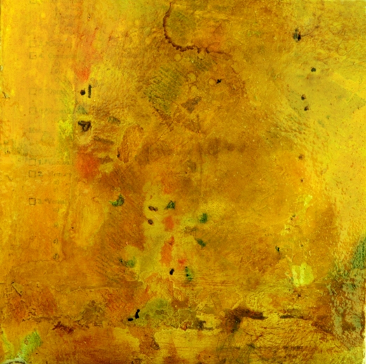 """Moments in Time  8"""" x 8""""  Mixed media on panel"""
