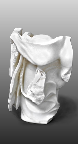 """New Thought Breaking  Marble  9"""" x 12"""" x 6"""""""