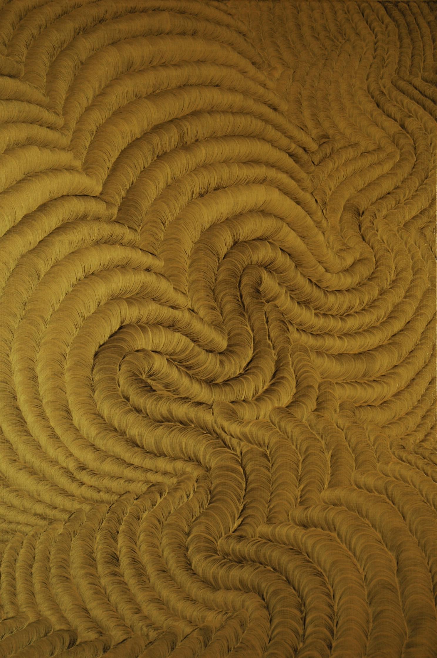 "Golden Harmony  Oil on canvas  48"" x 36"""