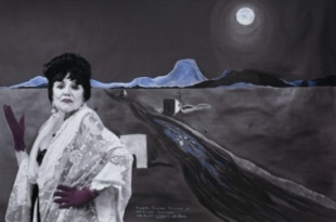 """La Llorona, from the """"Myselfportraits, Ode to Icons"""" Series  Archival carbon pigment print  23.5"""" x 35.5"""""""