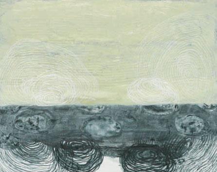 Katrin Moller  Gemlates 68  oil on canvas