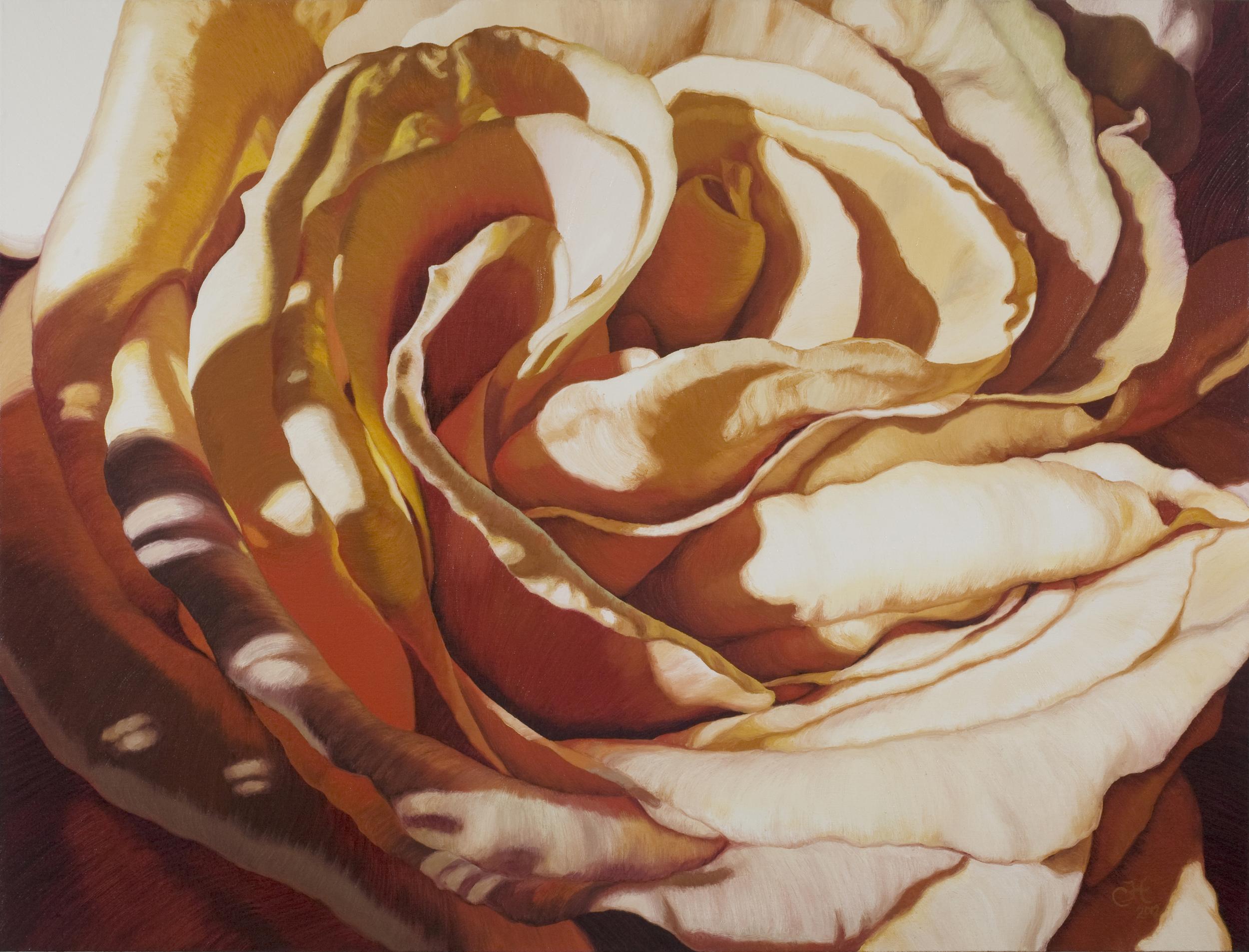 """Alethia  oil on canvas  36"""" x 48''"""