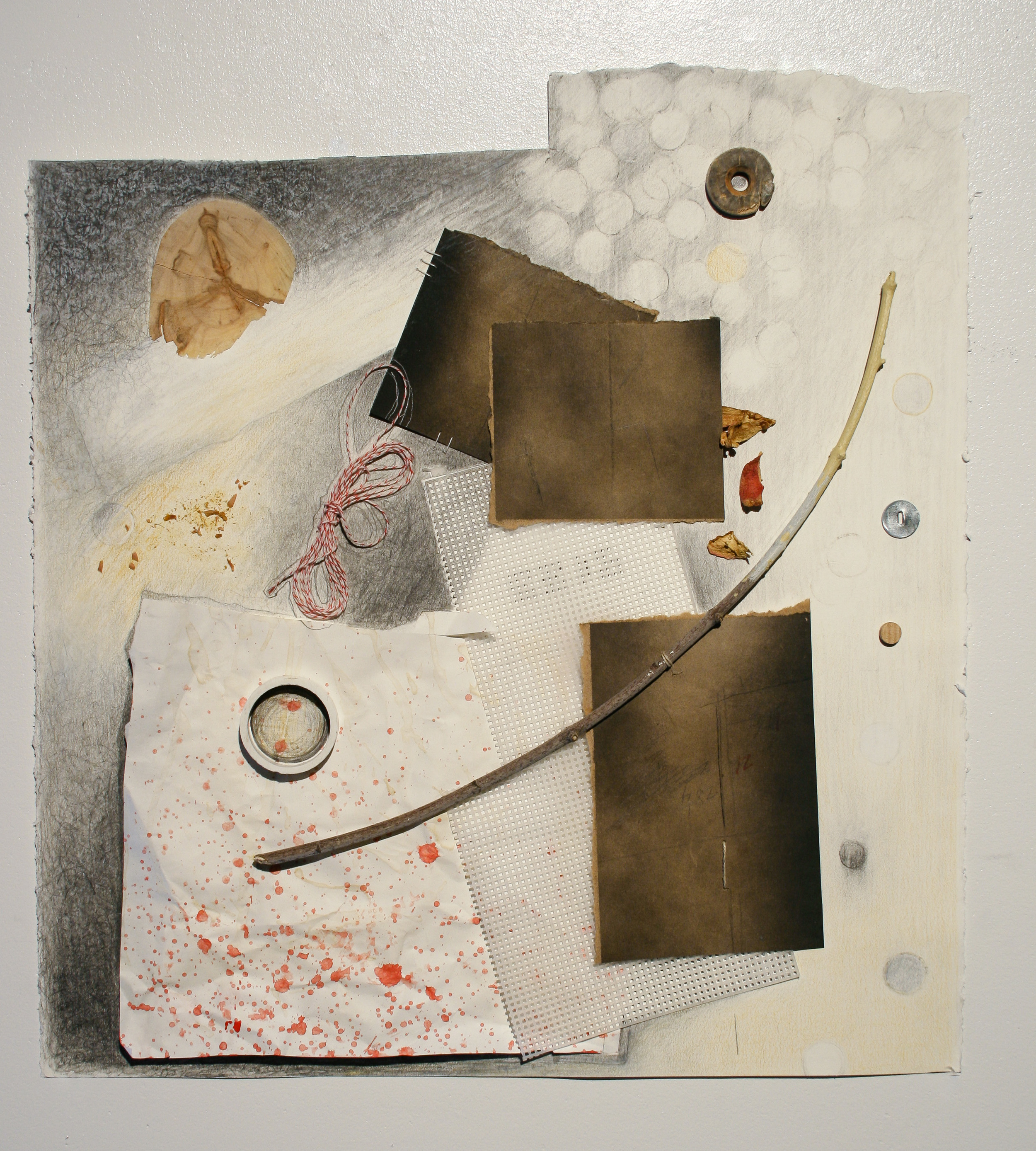 Reliving Something From Then Now (2011-12)  mixed media