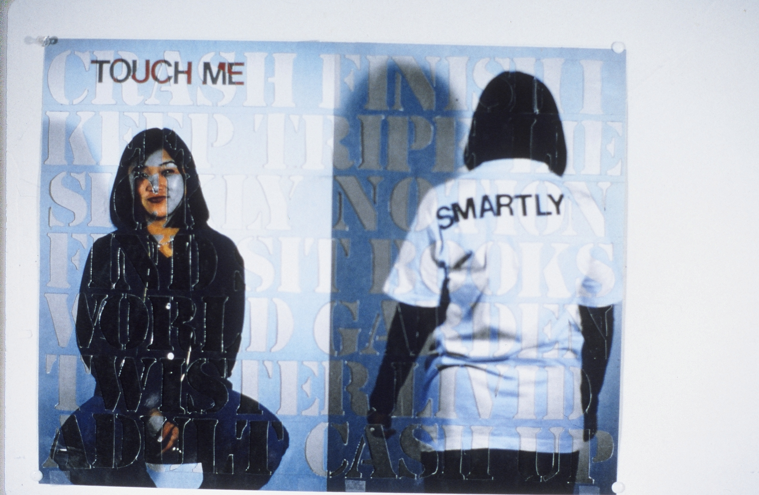 """Touch Me Smartly  Xerox photo  28"""" x 33"""""""