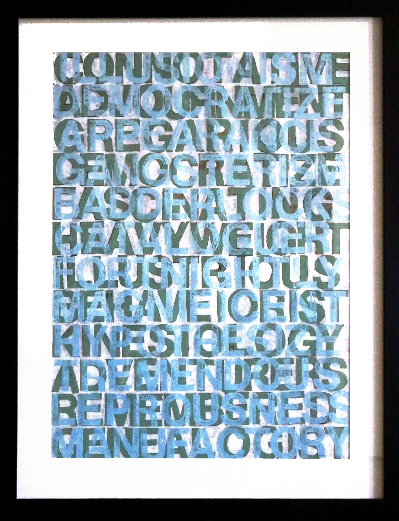 "Roland Bernier  ""Connotative""  39x50  workon paper"