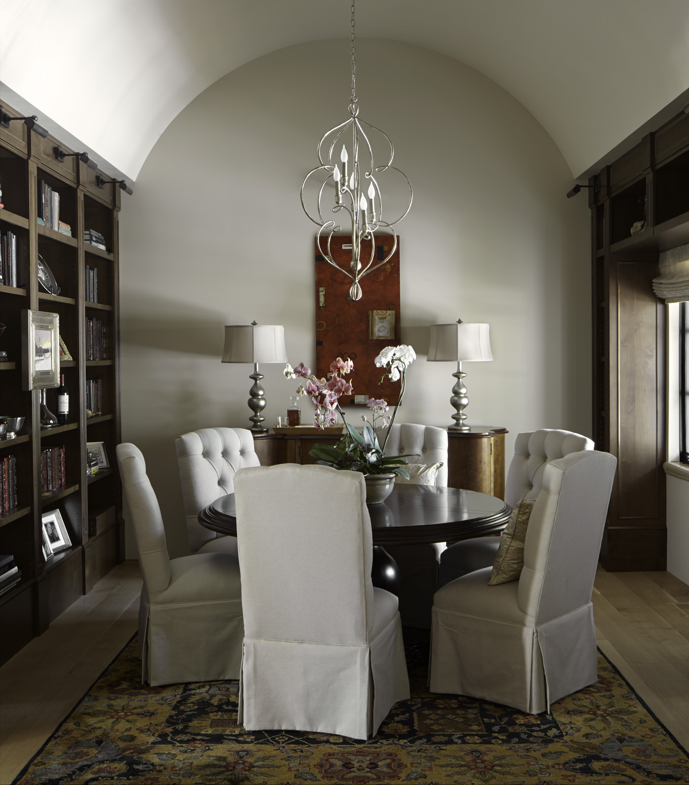 Private Residence. Colorado Homes and Lifestyles Magazine. David Patterson Photography. Artist: Don Quade.