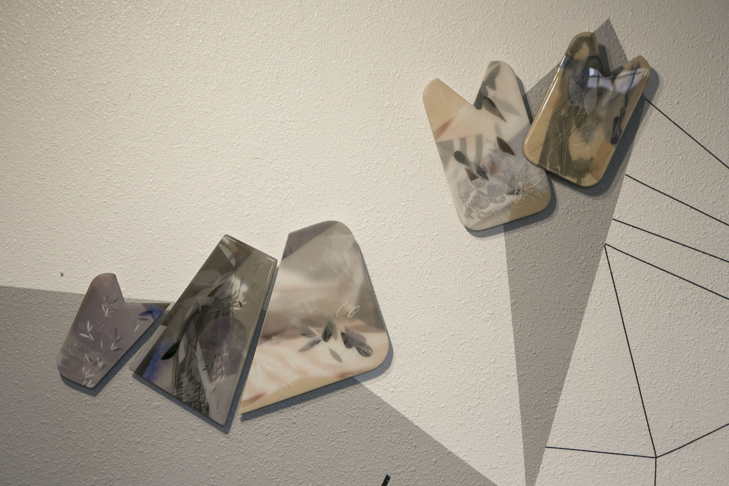 From left to right:  6.1   8x11 6.2   8x14 6.3   16x15 6.4   10x16  mixed media photography in resin