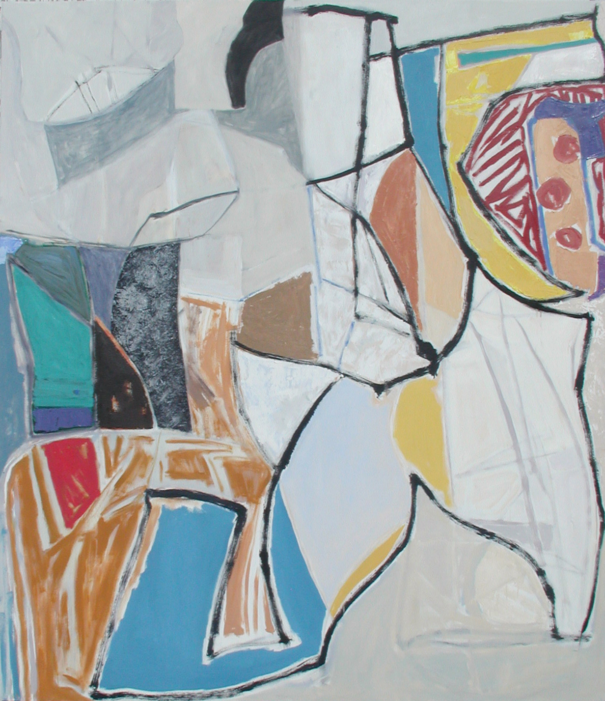 "Ben Strawn  ""Fallen Red Cloud""  oil on canvas, 60x68"