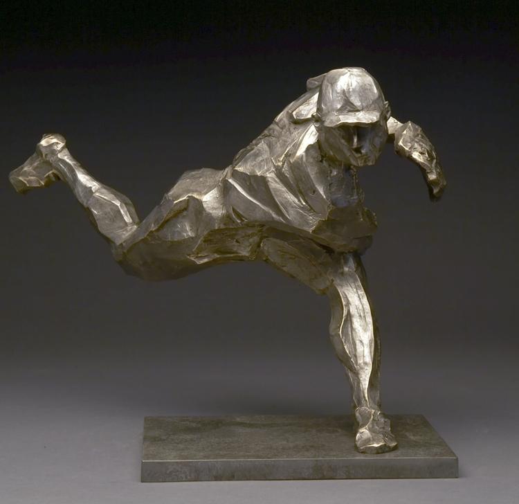 "The Pitch  bronze  12"" x 17"" x 15"""